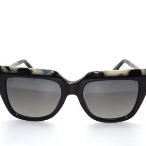 FENDI HAVANA BLACK/RUTHENIUM SUNGLASSES FF0087
